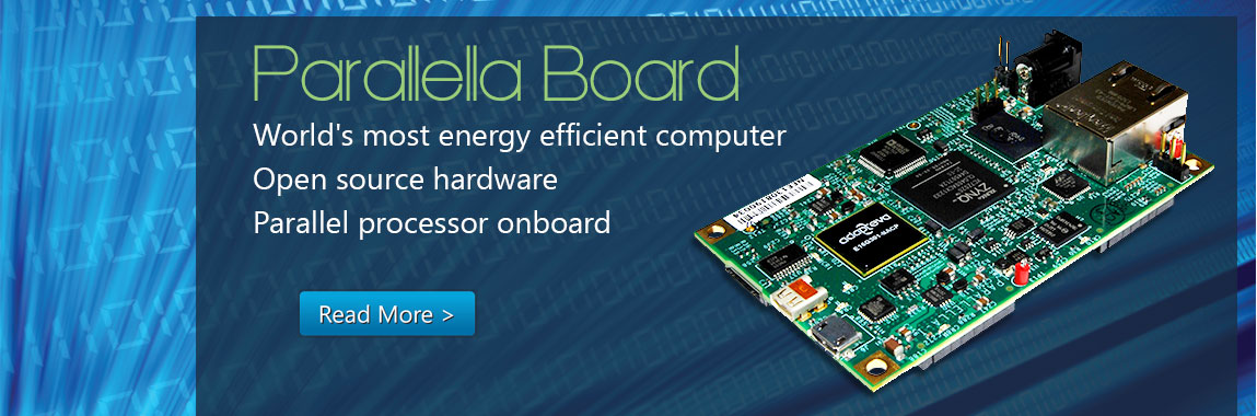 Pairing the #RaspberryPi with a Parallella board – Raspberry Pi Pod